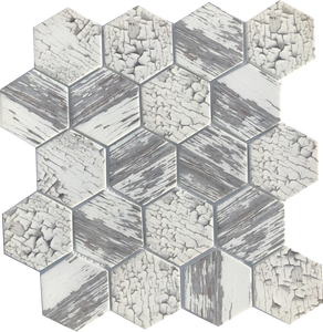 White Crackle Hex