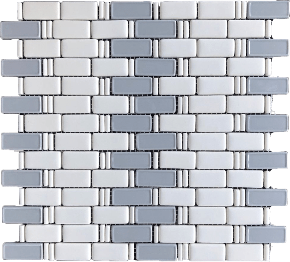 glass subway tile shower