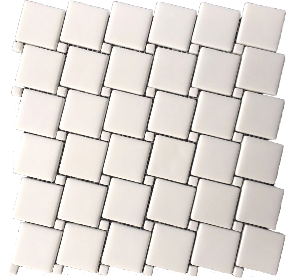 square marble mosaic tile