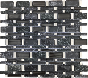 rectangle glass tile