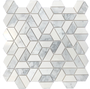 hexagon marble tile