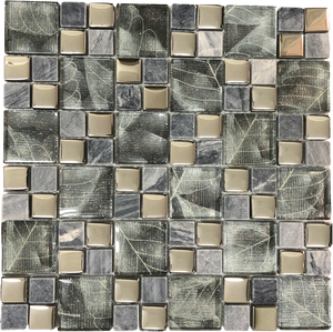 square glass mosaic tile