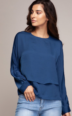 Double Layered Blouse (2 Colours)