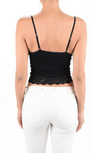 Load image into Gallery viewer, Lace Crop Cami