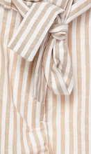 Load image into Gallery viewer, Striped Paperbag Shorts With A Tie