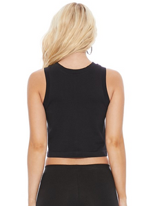 Cropped Seamless Muscle Tank
