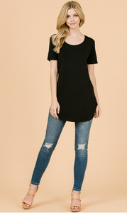 Modal SS Scoop Neck (4 Colours)