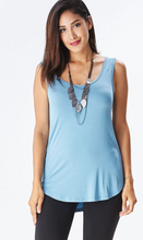 Load image into Gallery viewer, Modal Scoop Neck Tank (14 Colours)