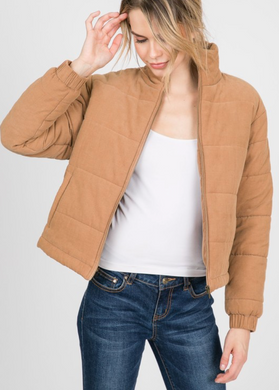 Puffy Corduroy Jacket