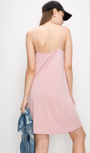 Load image into Gallery viewer, Modal Midi Dress with Adjustable Straps