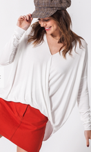 Load image into Gallery viewer, Surplice Front Cross Draped Top (3 Colours)