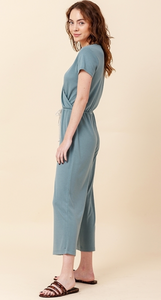 SS Wrap Front Jumpsuit (3 Colours)