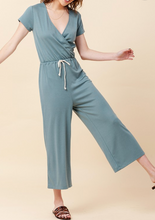 Load image into Gallery viewer, SS Wrap Front Jumpsuit (3 Colours)