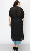 Load image into Gallery viewer, Button Down Cover Up Dress - Plus Size