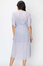 Load image into Gallery viewer, Button Down Cover Up Dress
