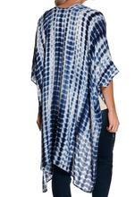 Load image into Gallery viewer, Tie Dye Short Sleeve Kimono