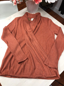 2 Tone Waffle Crossover Front Top
