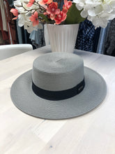 Load image into Gallery viewer, Straw Hat with Ribbon