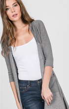 Load image into Gallery viewer, Front Pocket Hi-Low Cardigan