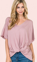 Load image into Gallery viewer, Dolman SS Twist Top (2 Colours)