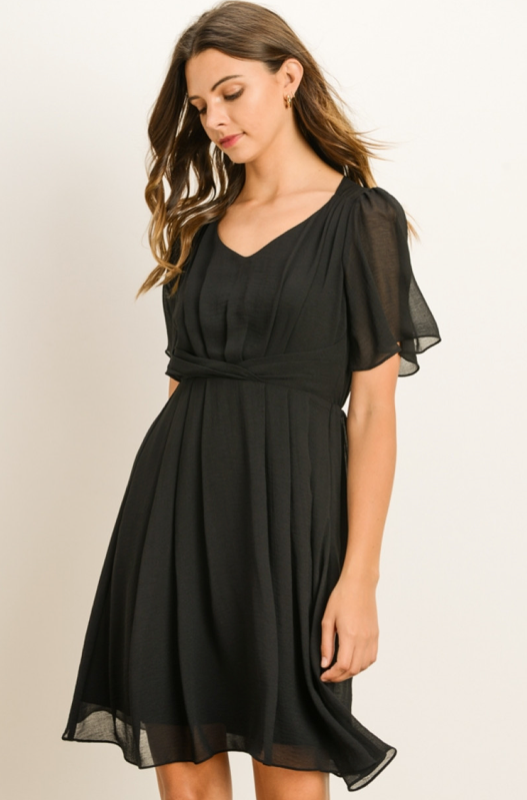 SS Draped Dress