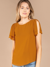 Load image into Gallery viewer, Open Sleeve Blouse (2 Colours)