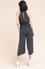 Load image into Gallery viewer, Pleat Detail Halter Jumpsuit