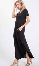 Load image into Gallery viewer, V-Neck Maxi Dress with Pocket (4 Colours)