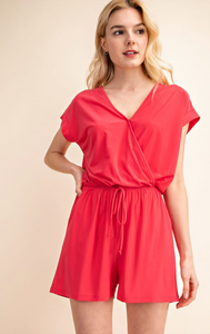 Romper with Wrap Front