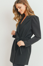 Load image into Gallery viewer, Belled Puff Sleeve Blazer