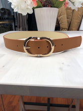 Load image into Gallery viewer, Gold Buckle Belt