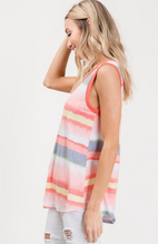 Load image into Gallery viewer, Sleeveless Watercolour Print Top