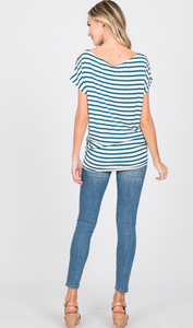 Modal Stripe Top