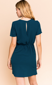 SS Dress with Side Tie