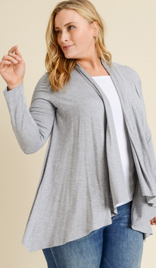Knit Cardigan - Plus Size (2 Colours)