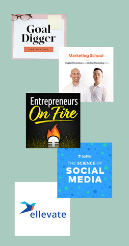 top 5 podcast for busy business owners