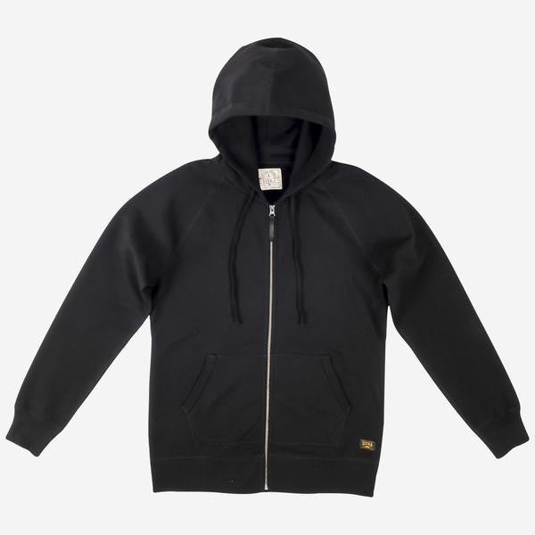 Mens Organic Heavy Weight Sitka Hoodie (Black)