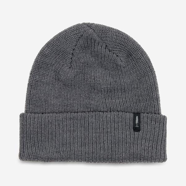 Merino Classic Toque (Heather Dark Grey)