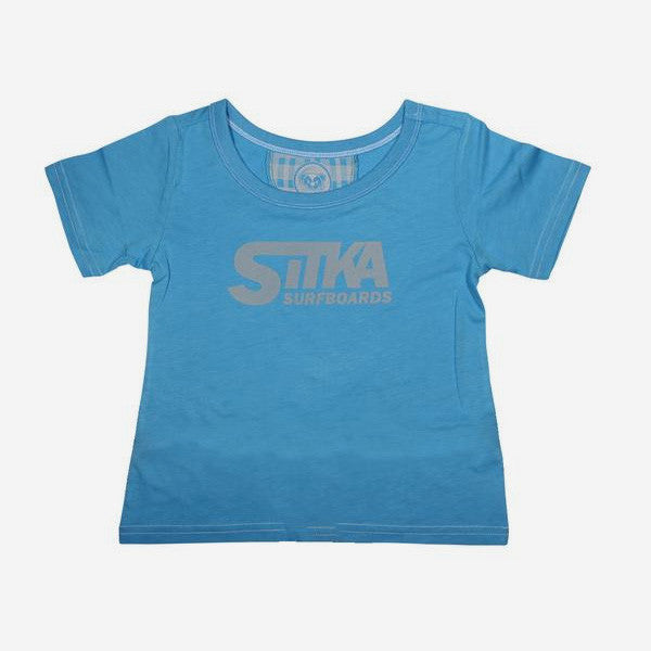 Seedling Classic Surf Toddler Tee - Bonnie Blue