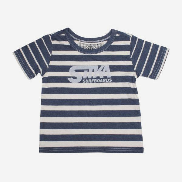 Seedling Classic Surf Toddler Tee - Indigo Blue