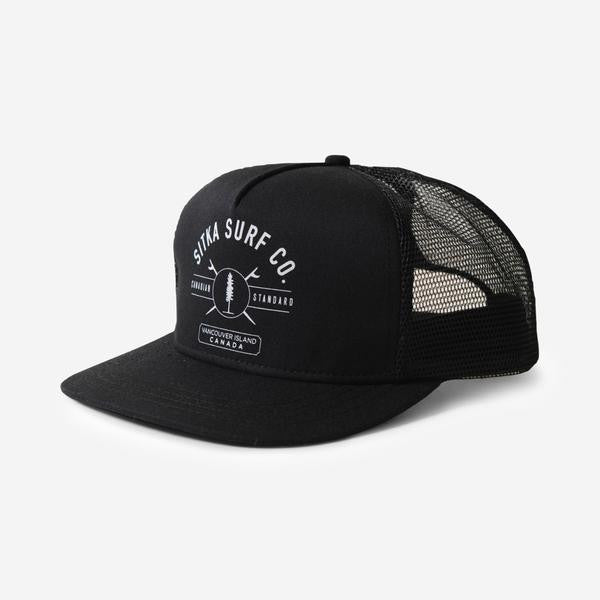 Surf Co. Trucker Cap (Black)