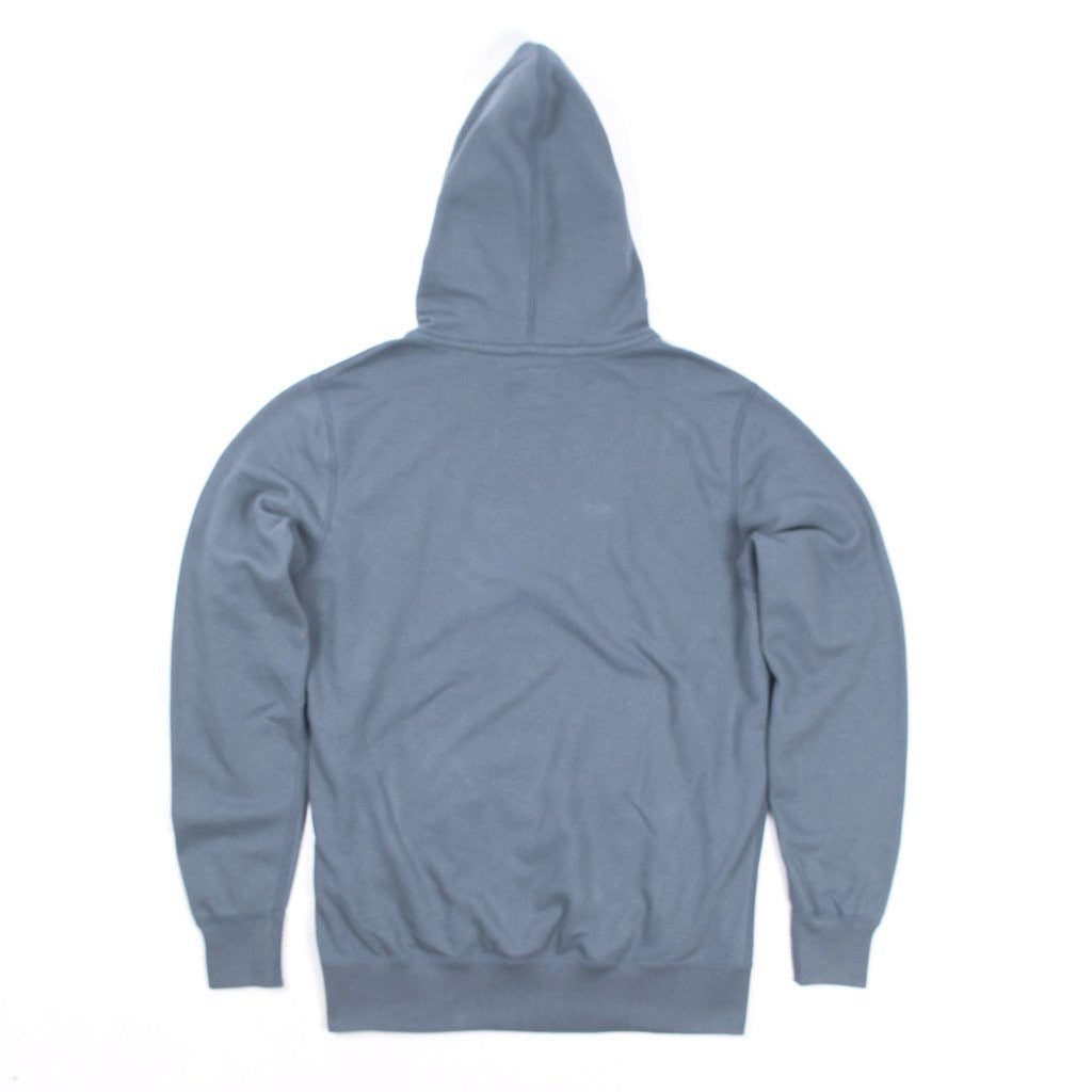 Mens Organic Mid Weight Triple Threat Pullover (Heron Blue)