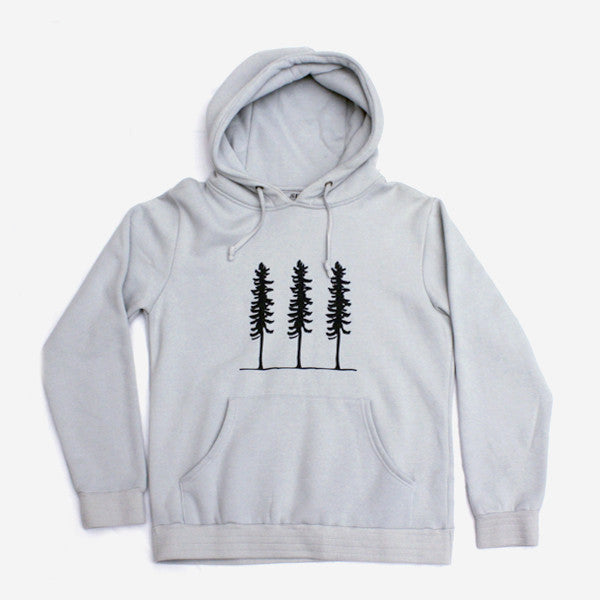 Mens Triple Threat Pullover Hoodie - High Rise