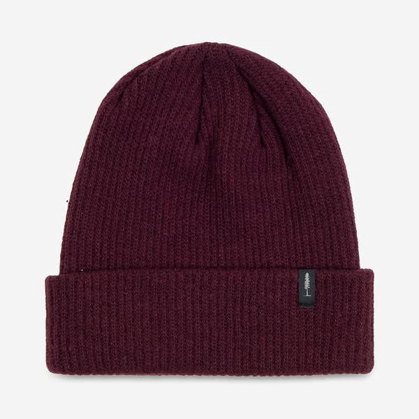 Recycled Cashmere Toque (Burgundy)