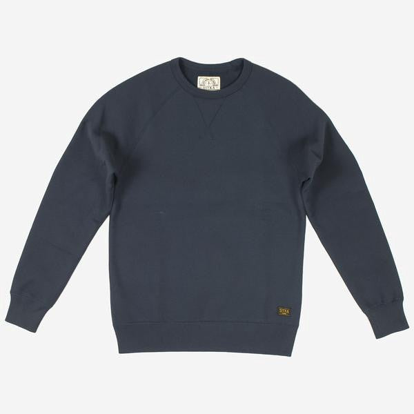 Mens Organic Heavy Weight Crew - (Ocean Blue)