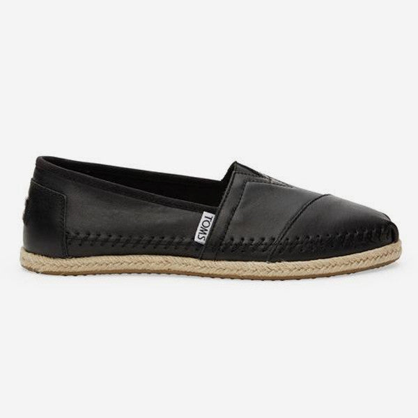 Womens Black Leather Classics