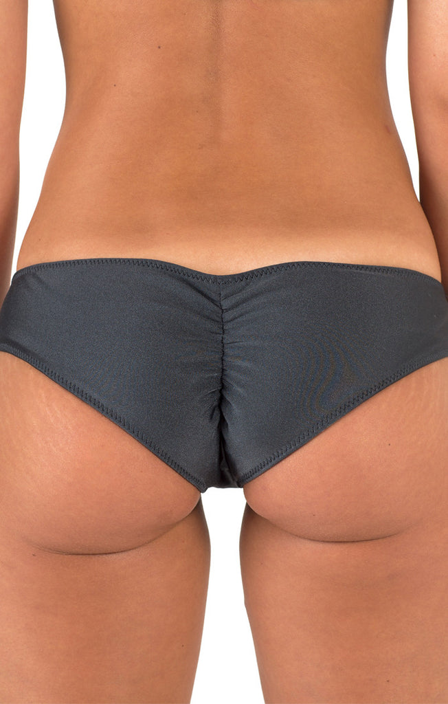 Girls Caroline Cheeky Bottoms - Graphite