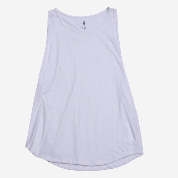 Womens Bresa Tank - Raw White