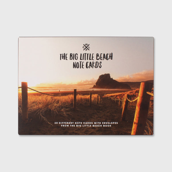 The Big Little Beach Note Cards
