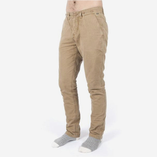 Mens Swallow Chino Pant - Dark Tan